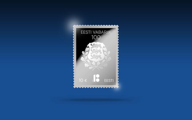 Omniva выпустит почтовую марку из чистого серебра.