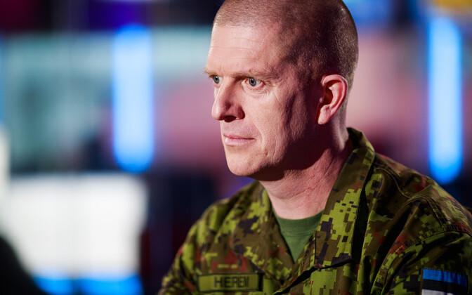 Eesti kaitseväe peastaabi ülem Martin Herem.