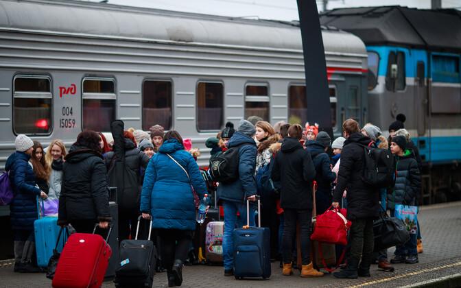 Туристический поток из России в Эстонию продолжает расти.