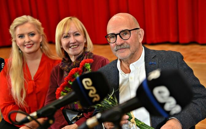 Ingrid Peek, Riina Rõõmus ja David Vseviov