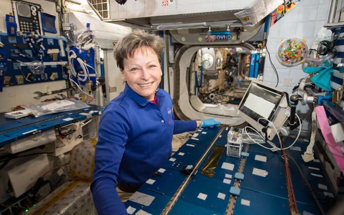 Astronaudid tuvastasid esimest korda rahvusvahelises kosmosejaamas kohapeal, kes seal peale nende elab.