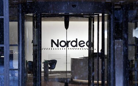 Отделение банка Nordea в Хельсинки.