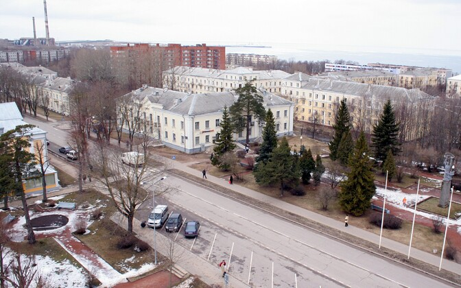 The town of Sillamäe is located on the Gulf of Finland coast in Ida-Viru County.