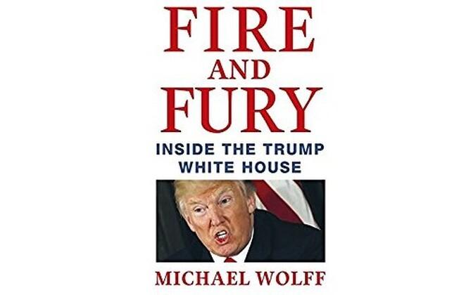 Michael Wolffi raamatu esikaas veebipoes Amazon.