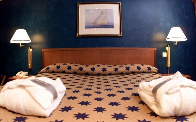 A hotel room in Estonia. Photo is illustrative.