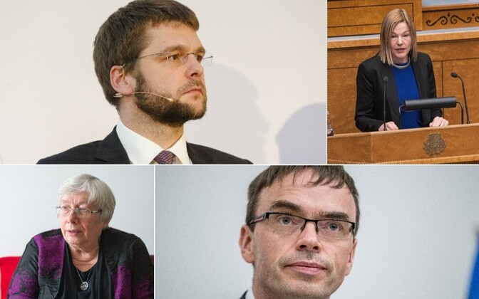 Jevgeni Ossinovsi, Barbi Pilvre, Marju Lauristin ja Sven Mikser