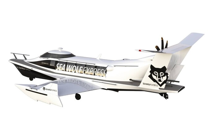 Render of the Sea Wolf Express GEV.