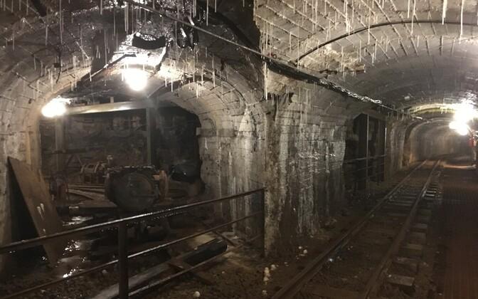 Эстонский музей-шахта.