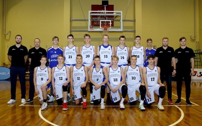 Eesti U-16 noormeeste korvpallikoondis