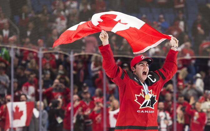 Kanada hokikoondis tuli U-20 maailmameistriteks