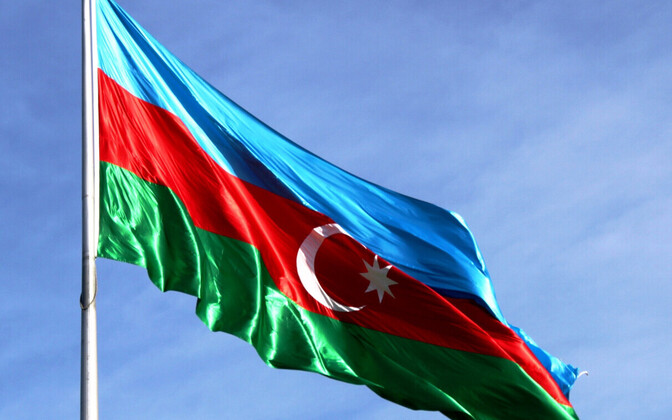 Flag of Azerbaijan (image is illustrative).