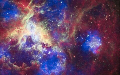 Tähetekkepiirkonnas 30 Doradus leidub suuri tähti erakordselt palju.