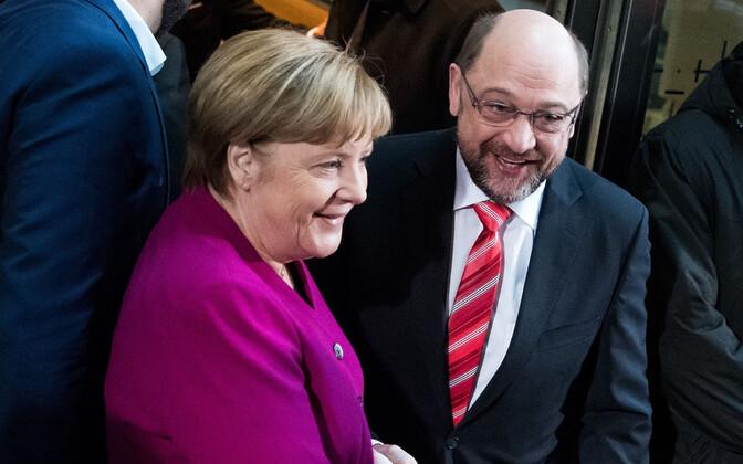 Лидеры ХДС/ХСС иСДПГ договорились оначале процесса формирования руководства Германии