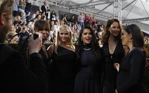 Halle Berry, Reese Witherspoon, Salma Hayek, Ashley Judd and Eva Longoria.