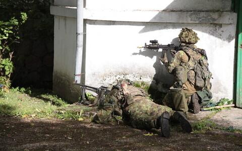 Учения скаутского батальона. Иллюстративное фото