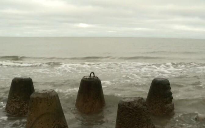 Mereala Hiiumaa lähistel.