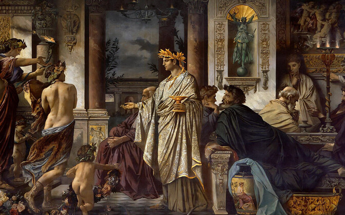 Sübariite võis Vana-Kreekas kohata nt sümpoosionitel.