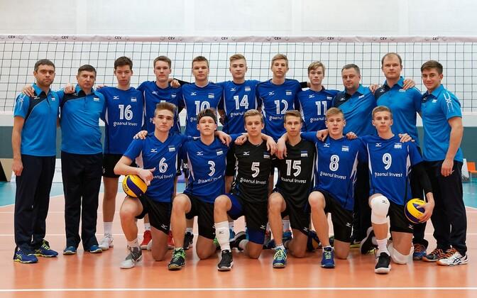 Eesti U-18 noormeeste võrkpallikoondis