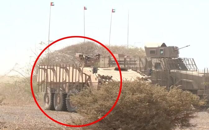 Patria AMV 8x8 Jeemenis.