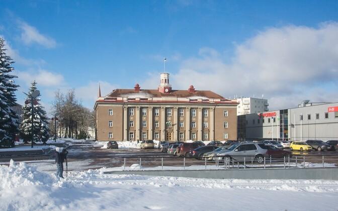 Йыхви - административный центр Ида-Вирумаа.