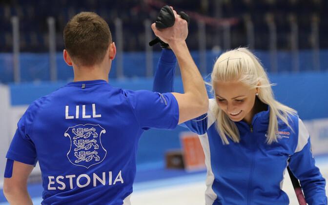 Harri Lill ja Marie Turmann