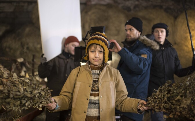 """Algasid Eesti mängufilmi """"Eia jõulud Tondikakul"""" võtted"""