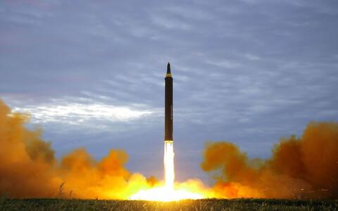 Баллистическая ракета КНДР.