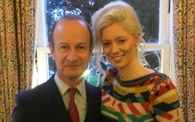UKIP-i juht Henry Bolton ja tema elukaaslane Jo Marney.