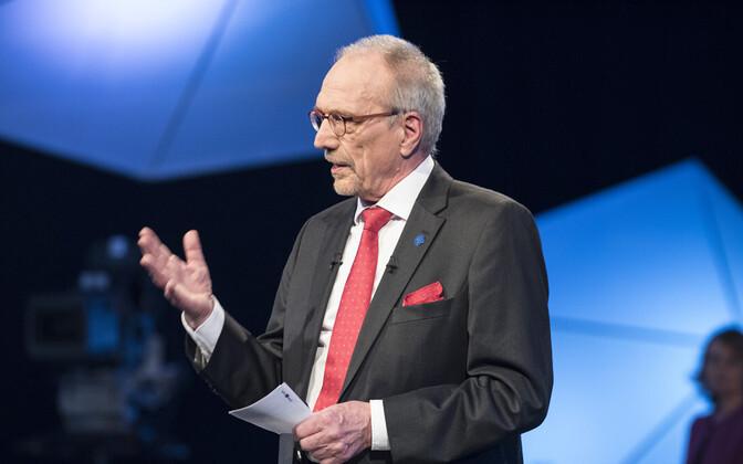 Soome Rootsi Rahvapartei (RKP) presidendikandidaat Nils Torvalds-
