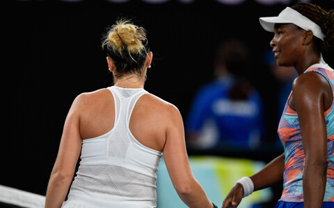Belinda Bencic ja Venus Williams