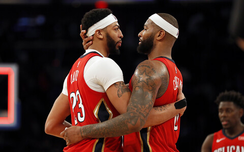 Anthony Davis ja DeMarcus Cousins