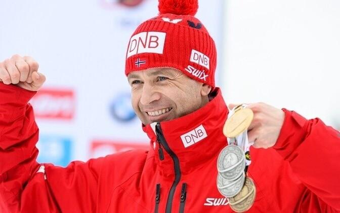 Уле-Эйнар Бьорндален - самый титулованный спортсмен в истории зимних Олимпийских игр.