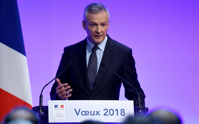 Prantsusmaa rahandusminister Bruno Le Maire.