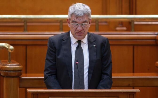 Rumeenia peaminister Mihai Tudose teatas tagasiastumisest.