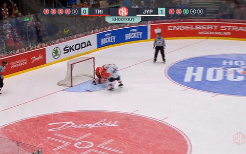 Jyväskylä JYP-i otsustav tabamus