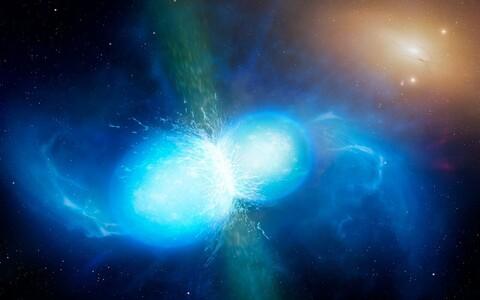 Teadlased tegid oma järeldused kahe ühinenud neutrontähe ühinemisel vallandunud gravitatsioonilainete põhjal.