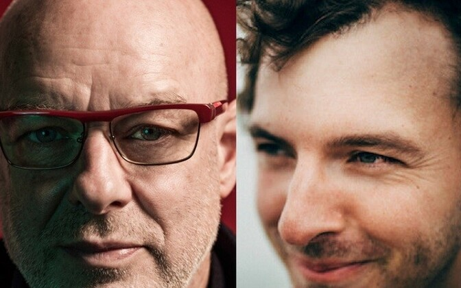 Brian Eno ja Tom Rogerson