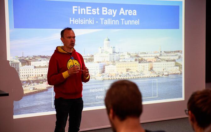 Peter Vesterbacka tutvustas Tallinnas tunneliprojekti