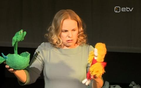 Näitleja Liisa Aibel.