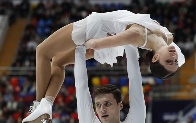 Наталья Забияко и Александр Энберт.