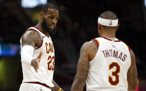 LeBron James ja Isaiah Thomas