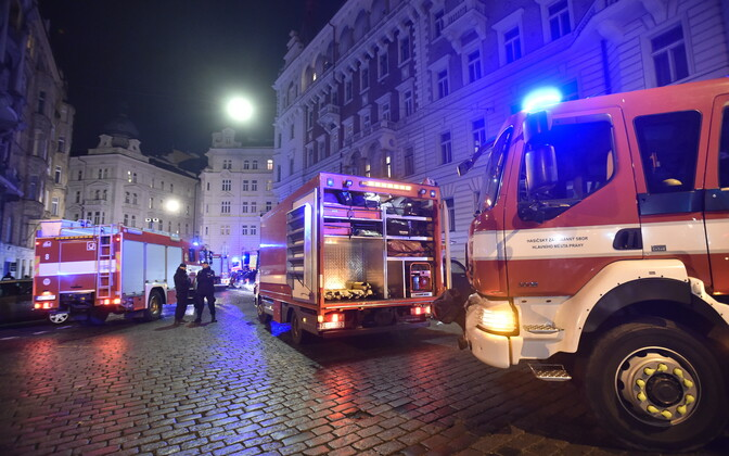Praha päästeautod.