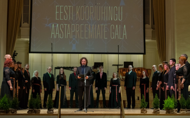 Aasta koor 2017 on Collegium Musicale.
