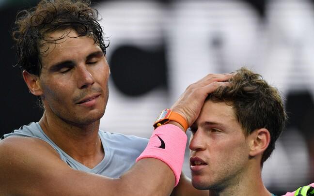 Rafael Nadal ja Diego Schwartzman