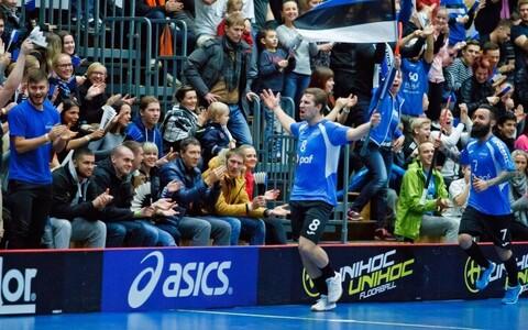 Лидер сборной Эстонии Патрик Карелиуссон.