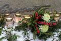 Valdo Pandi mälestamine metsakalmistul