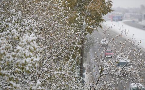 В Эстонии снова морозы.