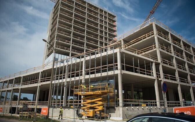 Строительство в Эстонии дорожает.