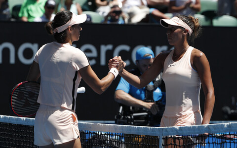 Caroline Garcia ja Madison Keys