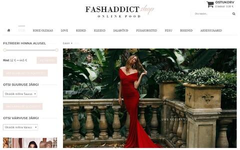 Интернет-магазин FashAddict попал в черный список